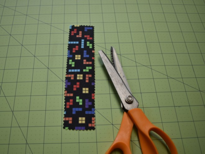 Fabric Bookmarks Step 3