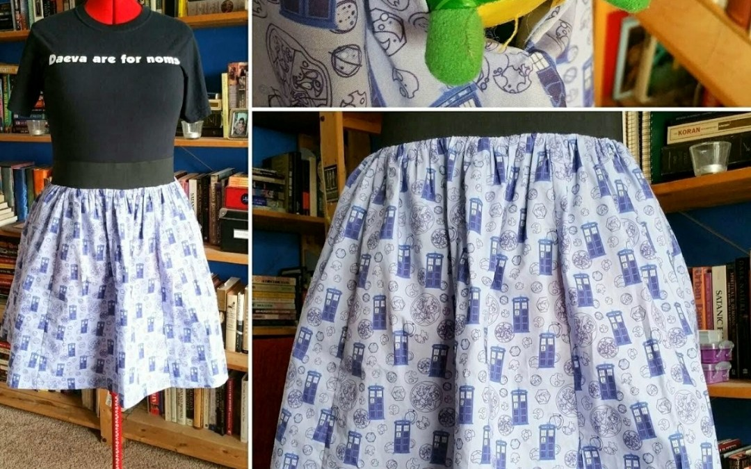 Sewing: A-Line Skirt with Pockets
