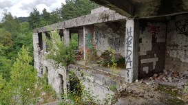 Luxury Olympics Hotel - destroyed by the Serbs as they left