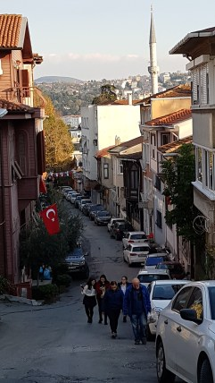 Down the main road to the Bosphorus
