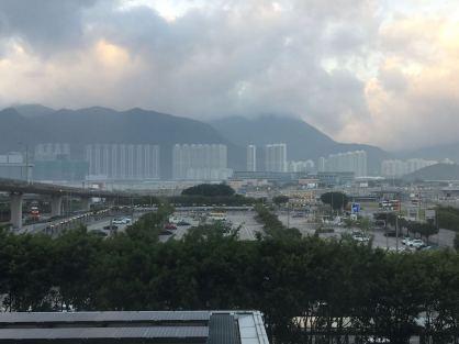 Hong Kong in the morning
