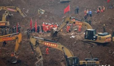 Τραγωδία στην Κίνα: Τόνοι λάσπης και αποβλήτων καταπλάκωσαν 33 κτίρια