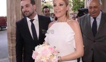 Γαβριήλ Σακελλαρίδης - Ράνια Τζίμα: Παντρεύτηκαν με πολιτικό γάμο
