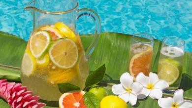Manfaat Infused Water Bahan Teh Hijau Citrus