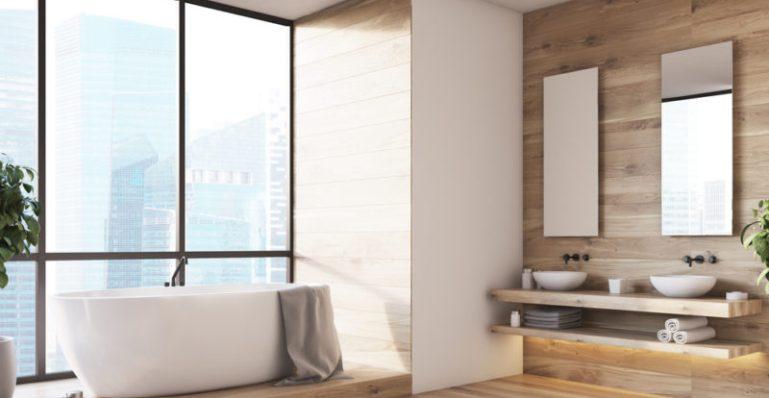 Kamar Tidur Sederhana Suasana Hotel Bintang Lima
