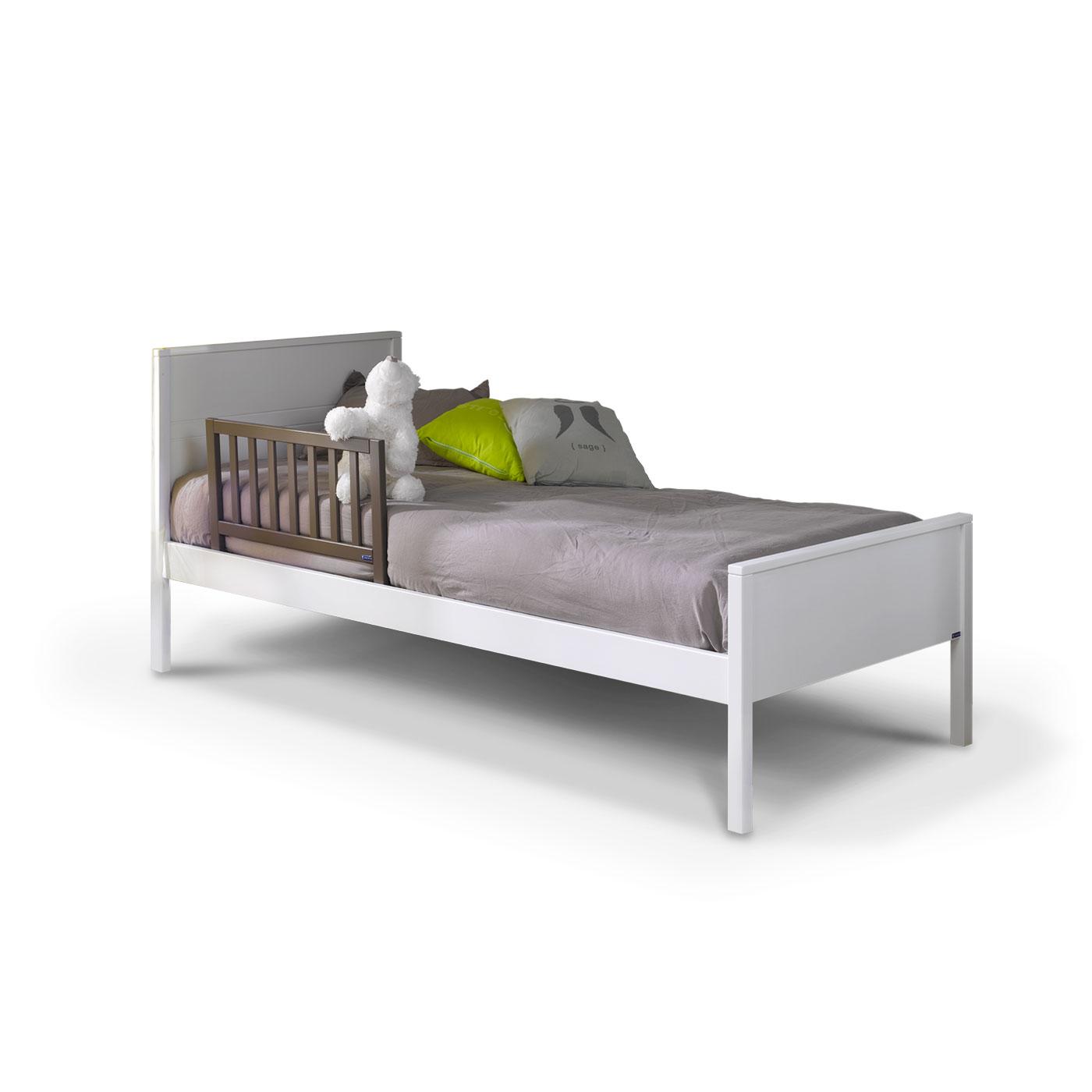 barriere de lit enfant 70 cm taupe idkid s