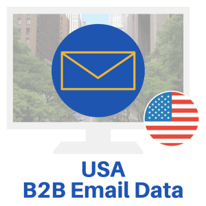 The USA B2b Email Database allows you to create unlimited business lists. Use this database to make lists for email, telemarketing, and direct mail.