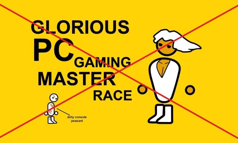 "Photo of Stop Berantem ""PC VS Console"" dan ""PC Master Race, Console Peasant""."
