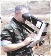 Military use of missile guidance systems is an example of teleaction technologies