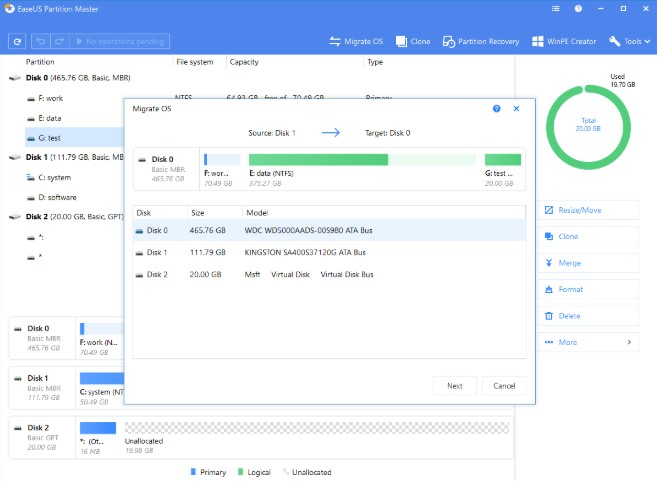 easeus partition master activation key