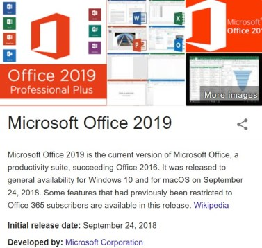 Microsoft Office 2019 Activation Key Crack Full ISO
