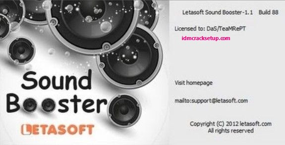 Letasoft Sound Booster 1.11.0.514 Crack & Product Key Full Version 2020