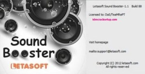 Letasoft Sound Booster 1.11.0.514 Crack & Product Key Full Version 2020