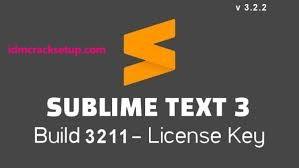 Sublime Text 3.2.2 Build 3211 Crack + License Key 2020 {Latest Version}