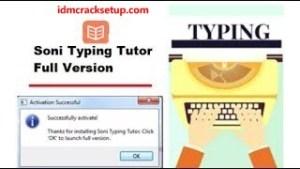 Soni Typing Tutor 6.1.33 Crack Plus Activation key 2021 [Latest]