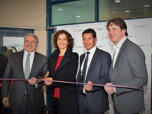 MIDEM 2016 – INAUGURATION OFFICIELLE