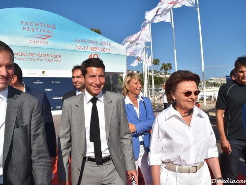 YACHTING FESTIVAL CANNES 2016 – INAUGURATION
