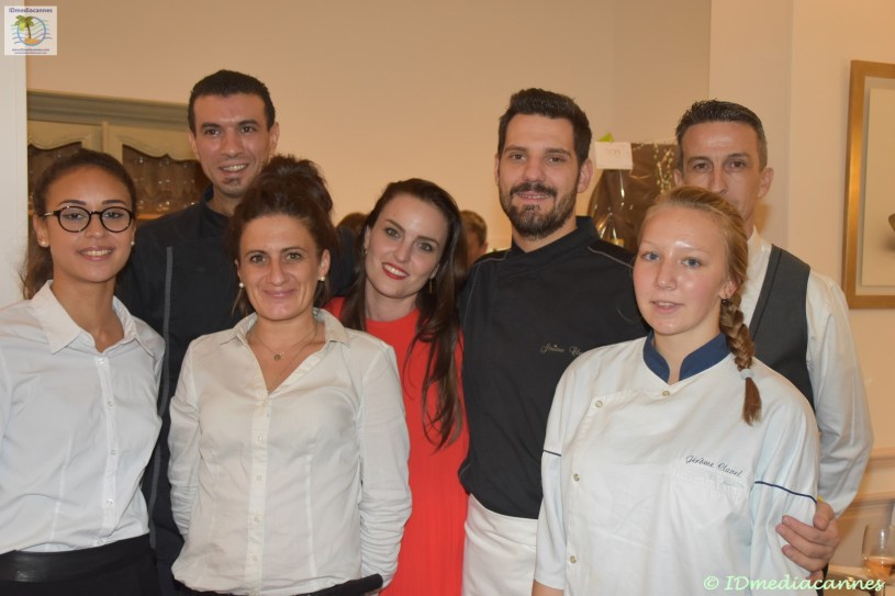 L'équipe du Restaurant Le 44