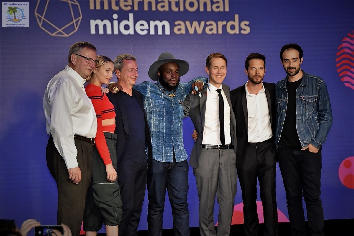 INTERNATIONAL MIDEM AWARDS - midem 2017