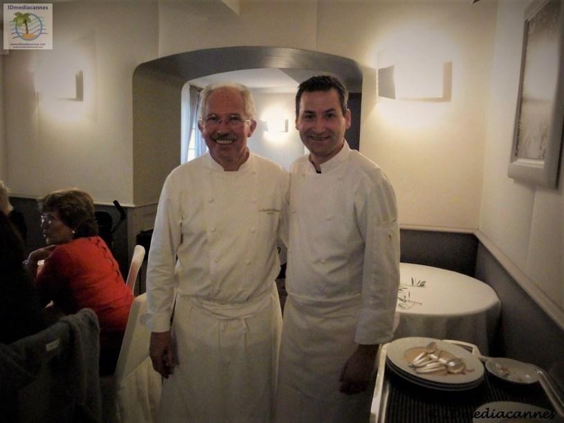 Jacques Chibois & LaurentBARBEROT