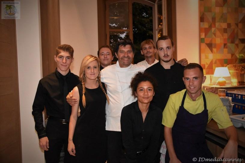 Max Callégari & Grégory Carel & l'équipe - Logis du Guetteur