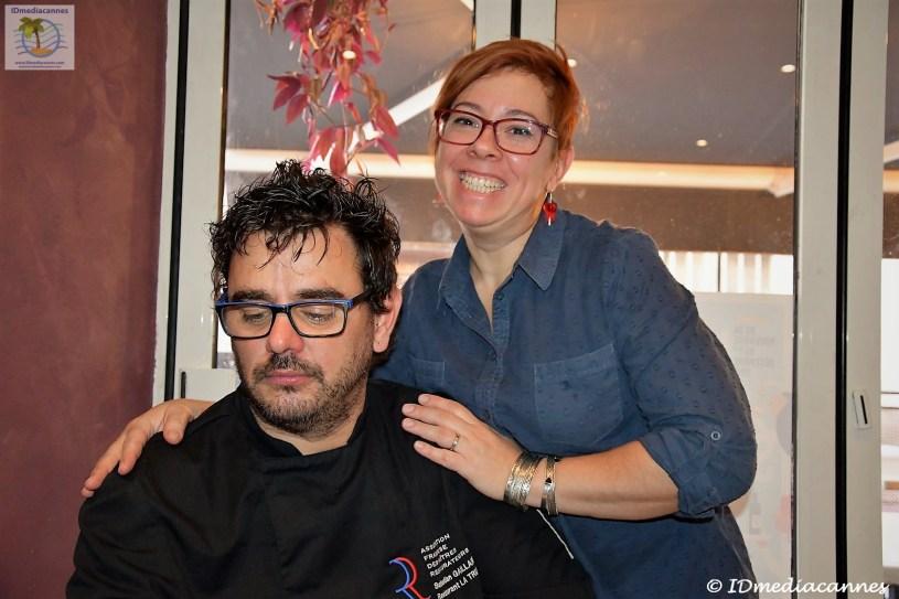 Sebastian Gaillard & Nadine Quinonez.