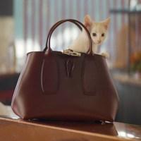"""Longchamp et FRED & FARID """" Très Paris """" ... le sens français de l'artisanat et du bon goût"""