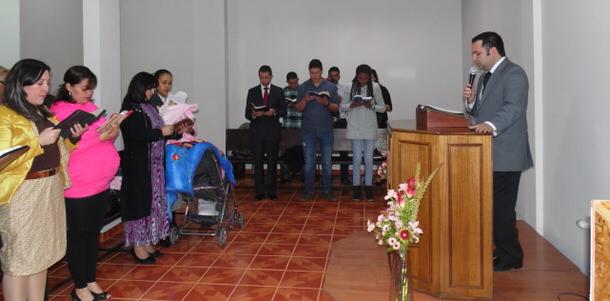 Inauguración Templo, Iquique – Chile