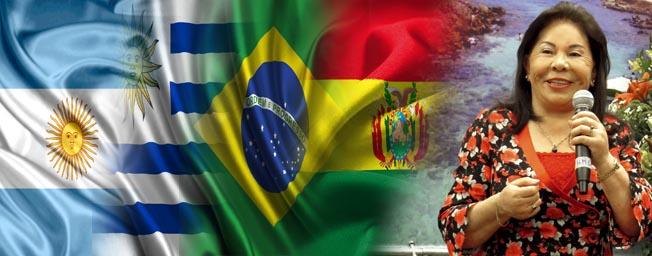 Visita de la Hna. María Luisa por Sudamérica