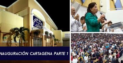 Ouverture Cartagena, Colombia Partie 1
