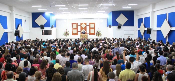Inauguración de la séptima Iglesia en en Pereira (Colombia) barrio Villavicencio