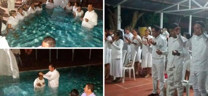 Bautismos en Vichada, Colombia – Febrero 2017