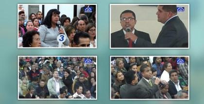 Testimonios en Santa Lucia, Candelaria la Nueva en Bogotá, y Facatativá, Cundinamarca – Marzo 2017