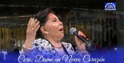 Hna. María Luisa Piraquive, Coro: Dame un nuevo corazón – Cali, Valle (Colombia)
