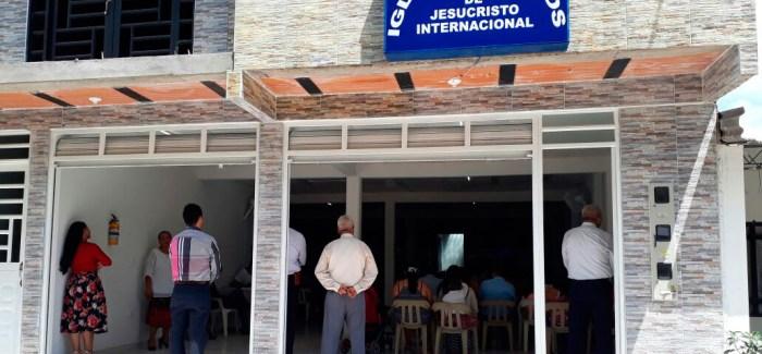 Traslado de la Iglesia en San Carlos de Guaroa, Meta (Colombia)