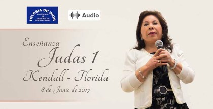 Audio: Judas 1 – Kendall Fl-USA – 08 Junio 2017