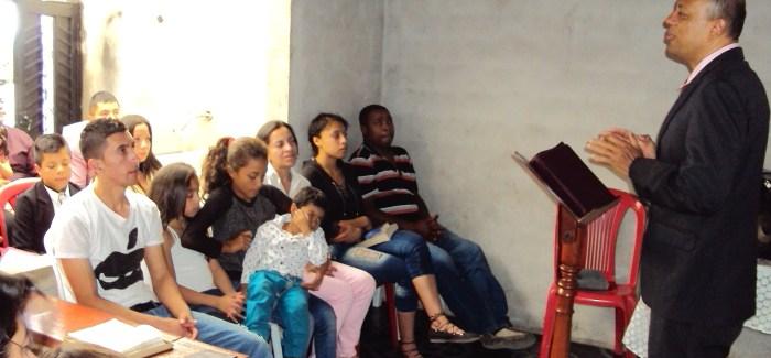 Fotos: Primer culto de enseñanza en el municipio de la Llanada, Nariño (Colombia)