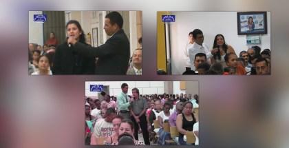 Testimonios en Bogotá, Arauca y Cali (Colombia) Julio 2017