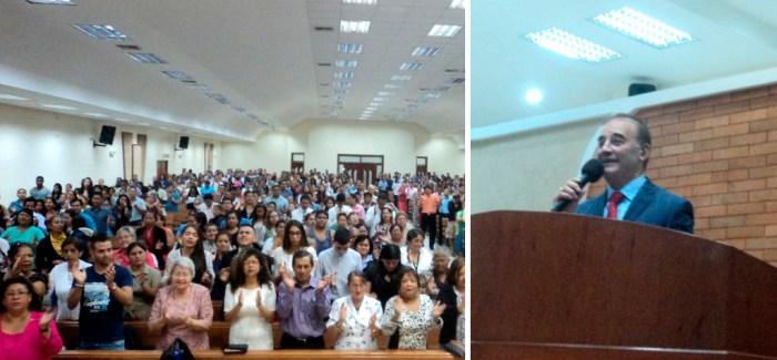 Fotos de la visita del Hermano Carlos Alberto Baena a Guayaquil, Ecuador