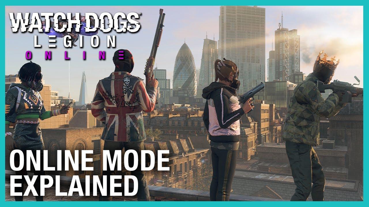 Watch Dogs: Legion's online mode Akan hadir di bulan Maret
