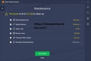 Avast Cleanup Premium Key 20.4 Crack