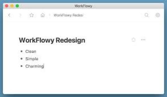 WorkFlowy Desktop 1.3.5 Crack + license Key Free Download