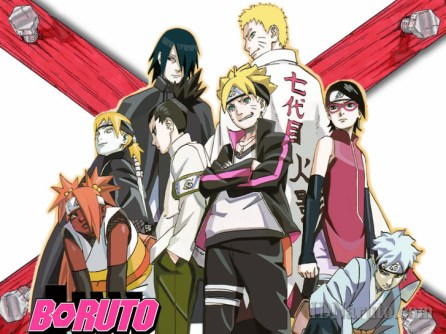 Boruto And Teamate With Their Parents
