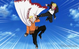Boruto Duel With Their Fathers Naruto Anime