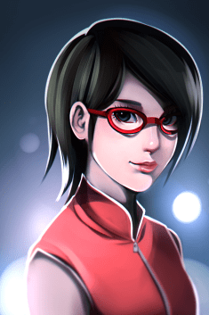 Super image sarada by smokeypokey