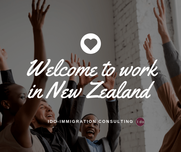 ido-immigration consulting job seek Welcome to work in New Zealand