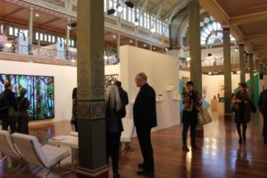 Melbourne Art Fair August 2014 at Royal Exhibition Building Melbourne Australia Photo taken by Karen Robinson whilst visiting IMG_0385.JPG