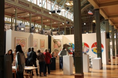 Melbourne Art Fair August 2014 at Royal Exhibition Building Melbourne Australia Photo taken by Karen Robinson whilst visiting IMG_0399.JPG