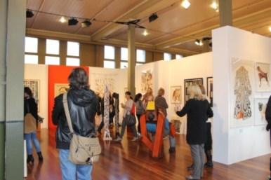 Melbourne Art Fair August 2014 at Royal Exhibition Building Melbourne Australia Photo taken by Karen Robinson whilst visiting IMG_0431.JPG