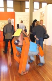 Melbourne Art Fair August 2014 at Royal Exhibition Building - Photo taken by Karen Robinson whilst visiting fair IMG_0434.JPG